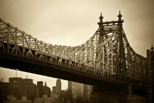 New York Bridge Decoration Decal