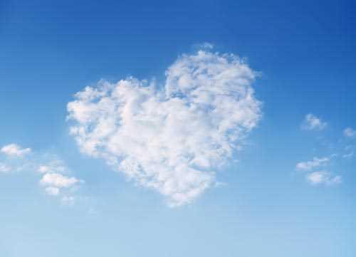 Cloud Heart Decoration Decal