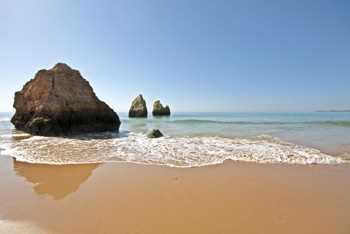 Sticker Deko Rochers et l'océan au Portugal