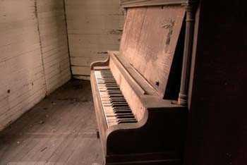 Sticker Deco Murale Vieux Piano