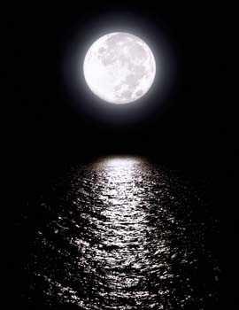 Sticker Deco Reflet de Lune