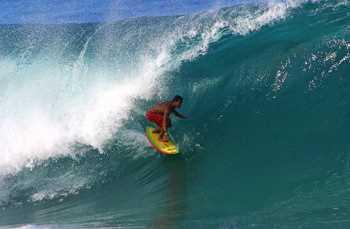 Sticker Déco Surfeur Hawaï