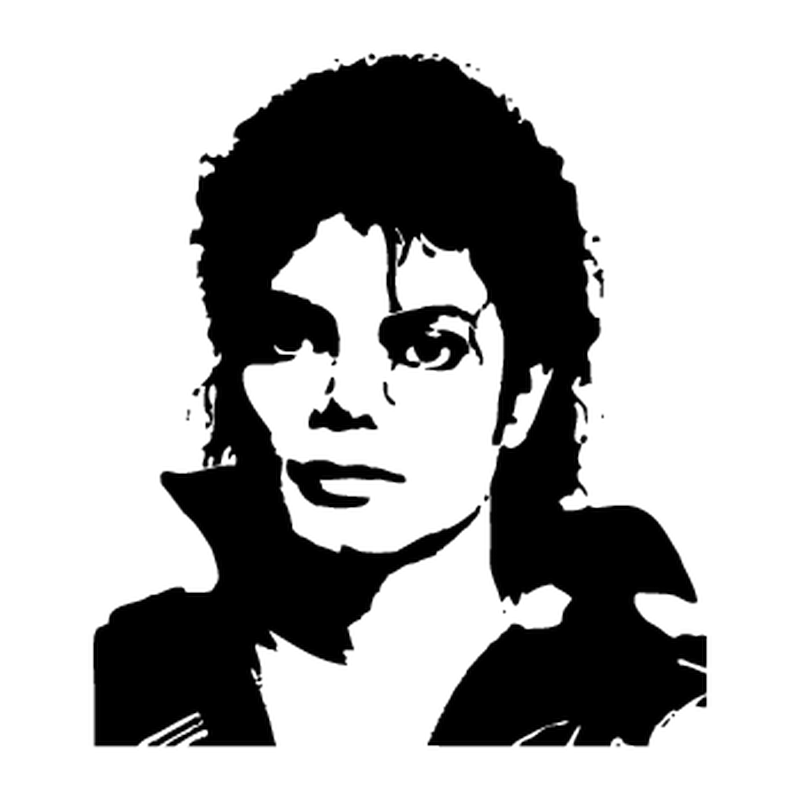 Sticker Mini Michael Jackson