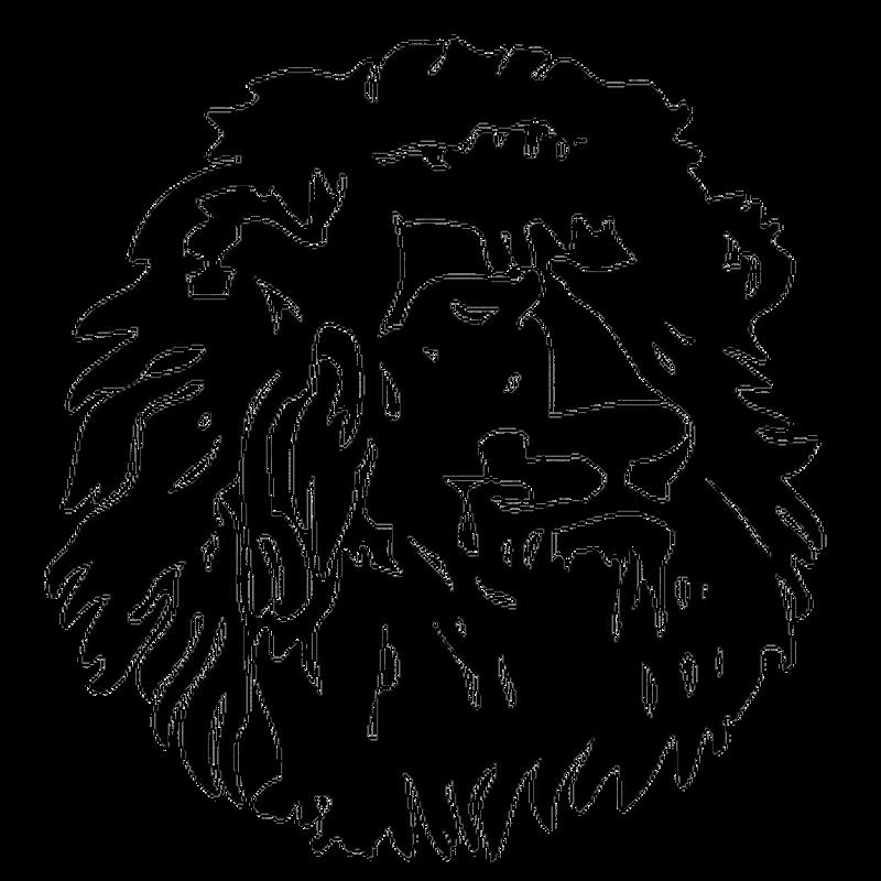 Cameroun Lion Mini Decal