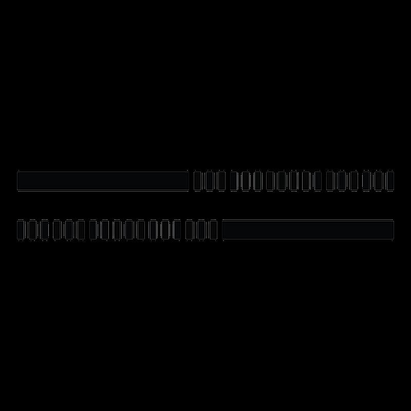 Sticker deco bande ligne 01 for Ligne deco