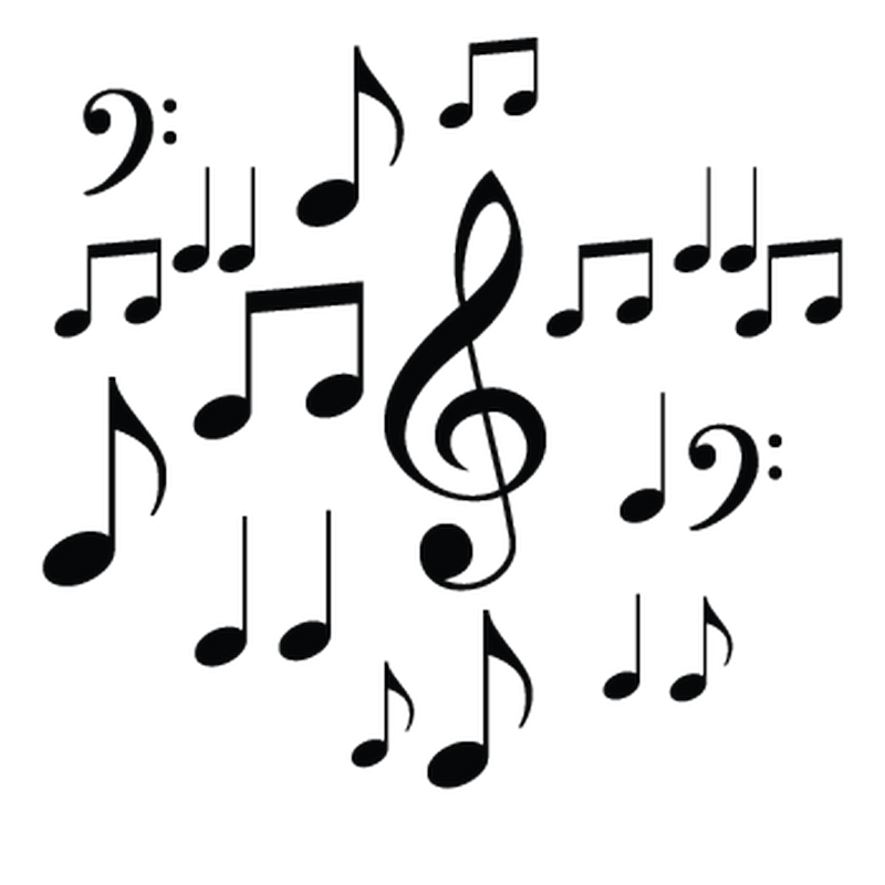 Music Notes Citroen DS3 Decal Set
