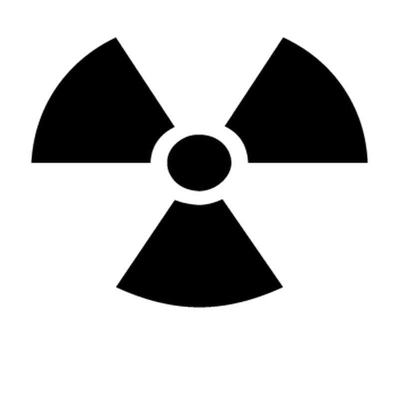 Nuclear Mini Decal