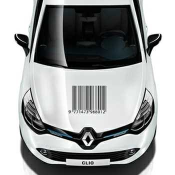 Barcode Renault Decal