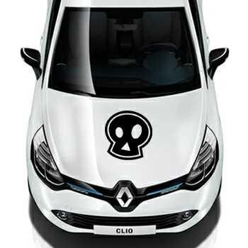 Emo skull Renault Decal