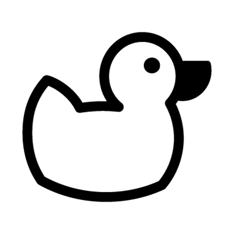 Duck Renault Decal