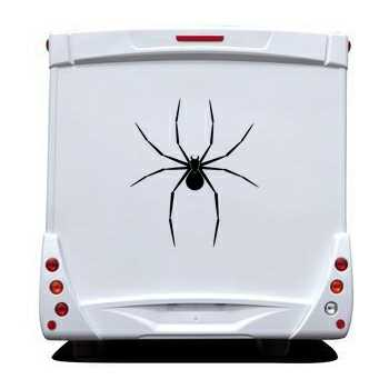 Spider Camping Car Decal