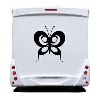 Sticker Wohnwagen/Wohnmobil Schmetterling