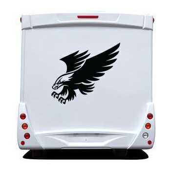 Eagle Camping Car Decal 4