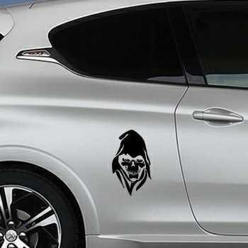 Skull Peugeot Decal 6