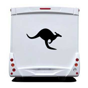 Kangaroo Camping Car Decal