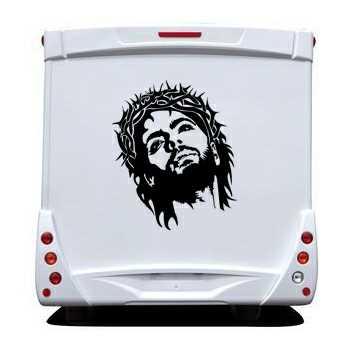 Jesus Christ Camping Car Decal