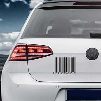 Barcode Volkswagen MK Golf Decal