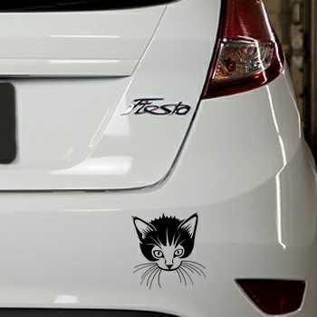 Kitten Ford Fiesta Decal