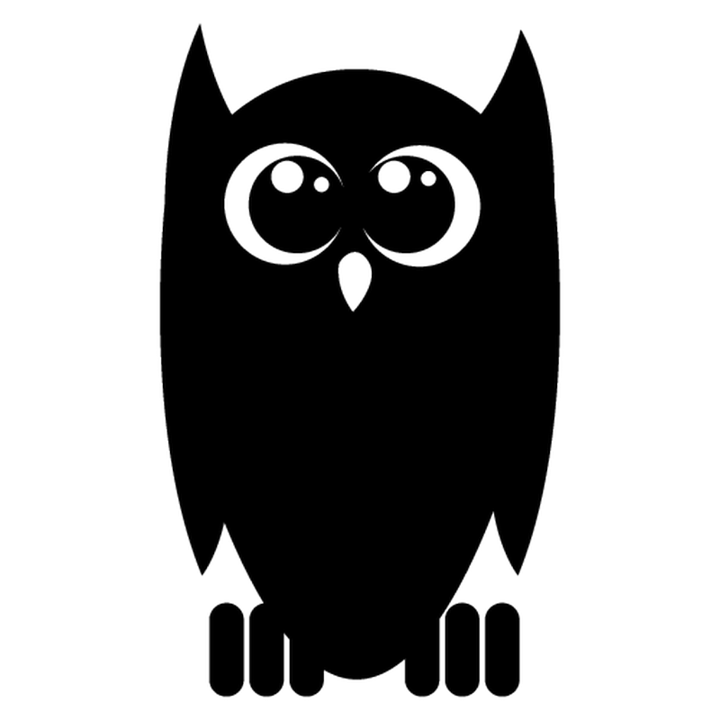 Little Owl decal