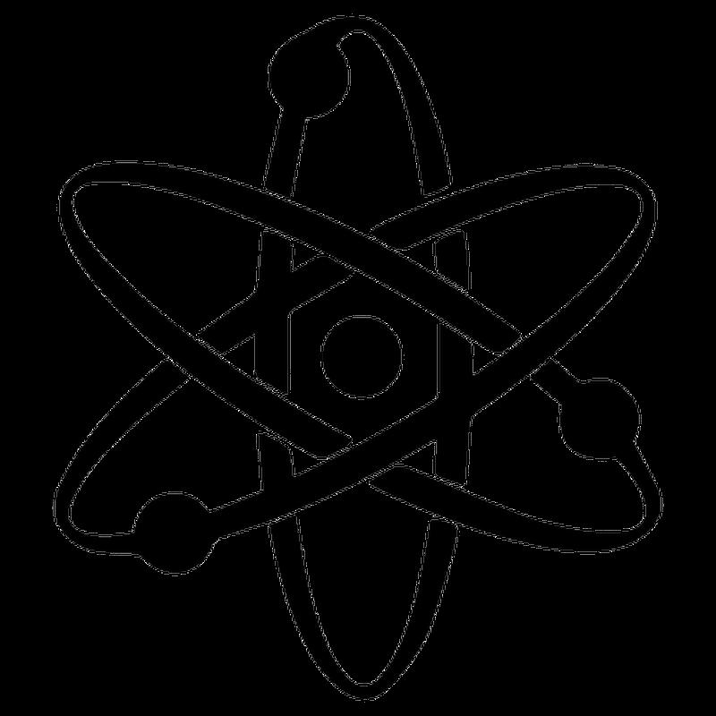 Atom decal
