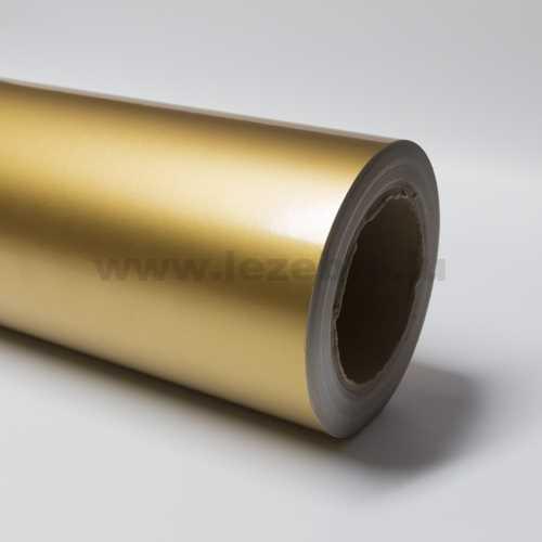 Gold vinyl film