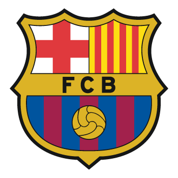 Sticker FC Barcelone Couleur