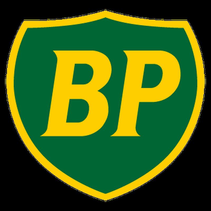Sticker Carburants Bp Ancien Logo Vert Et Jaune