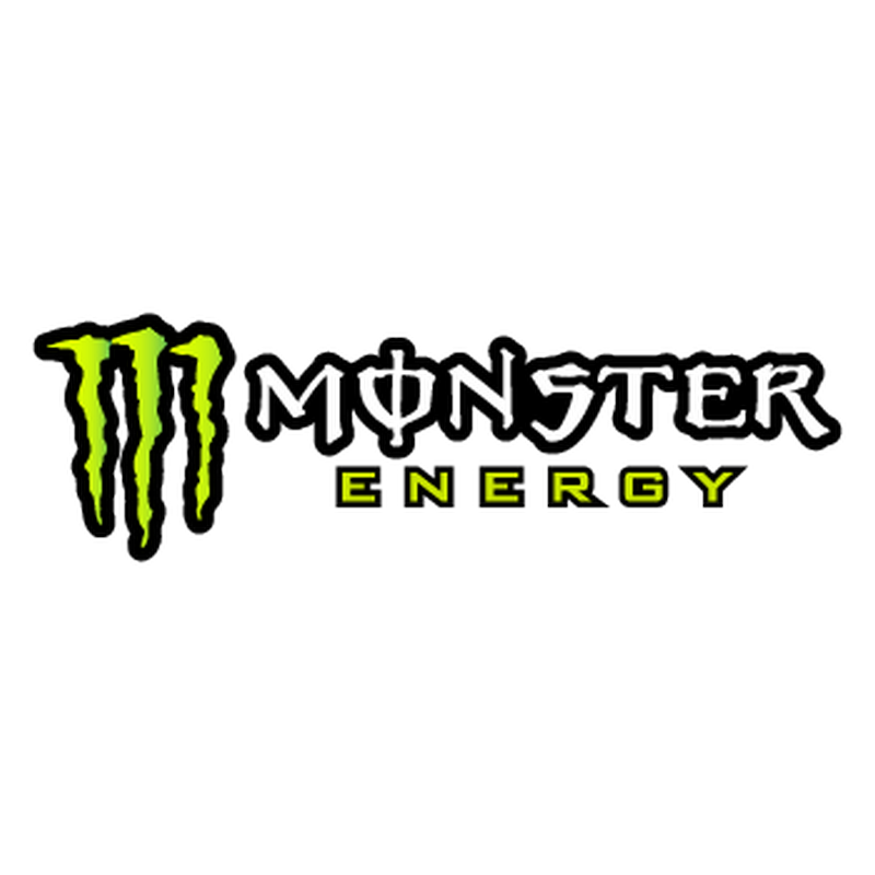 Connu Monster Energy logo car motorcycle decorative Decal - 2nd model RQ12