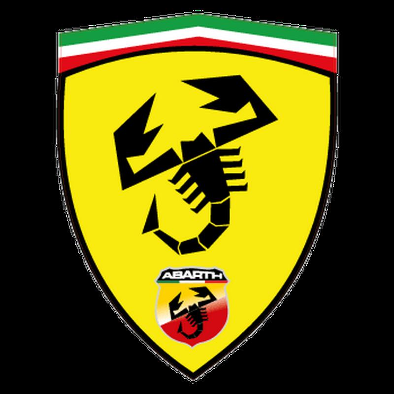 Sticker Fiat Abarth Ferrari Écusson