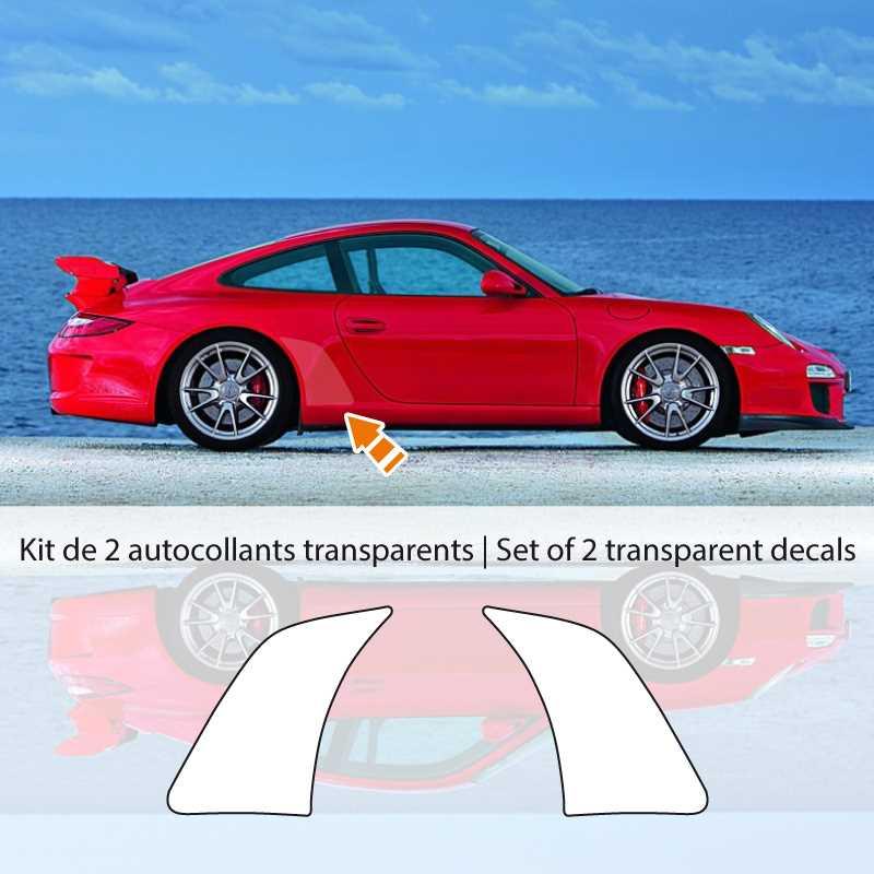 Kit stickers vinyle de protection gravier Porsche 911 GT3