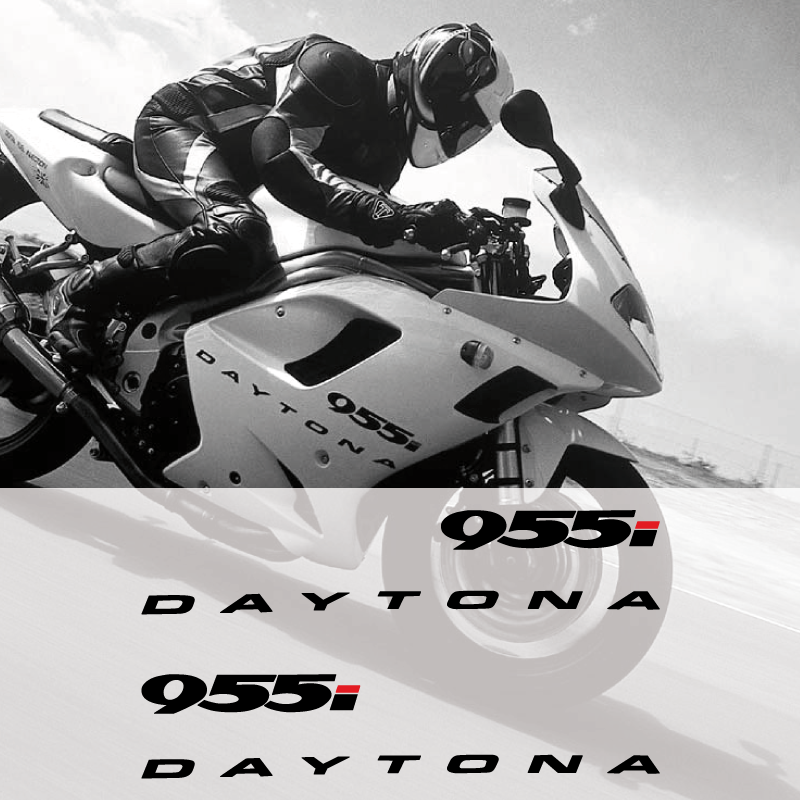 Kit de 2 stickers carénage Triumph Daytona 955i