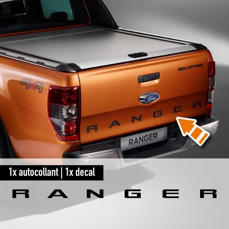 Ford Wildtrak Ranger Kofferraum Aufkleber