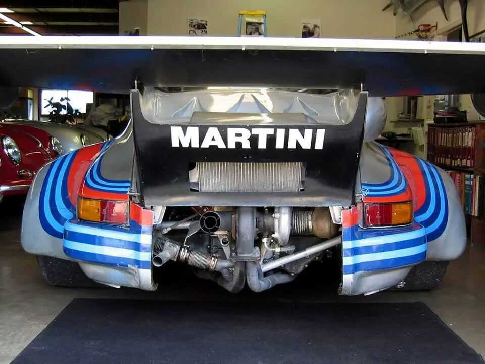 Martini motorcycle strip decal