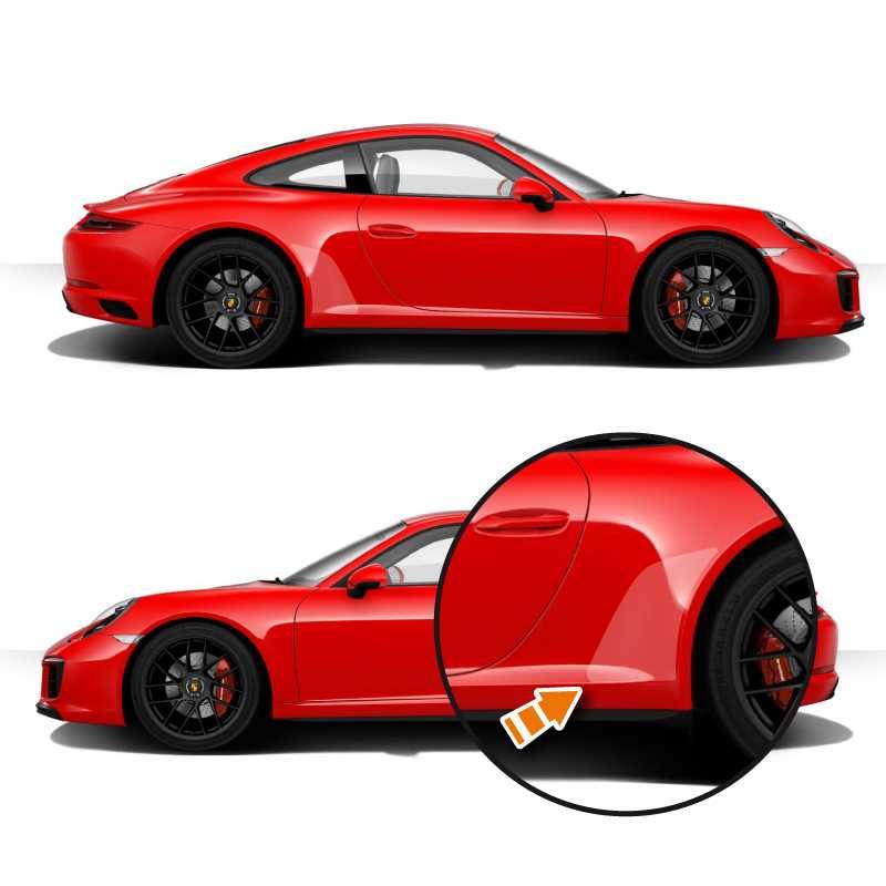 Kit stickers vinyle de protection transparent Porsche 911 ( Carrera, S, GTS, 4 S, Targa & GT3)