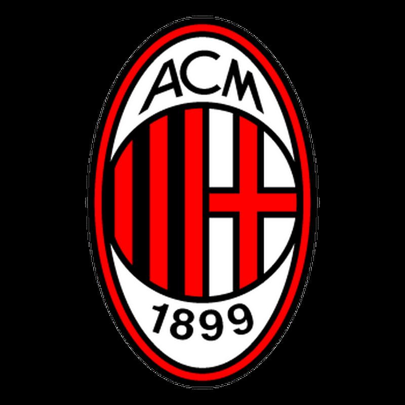 Sticker AC Milan Couleurs
