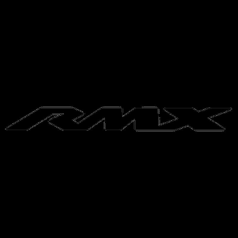 Pochoir Suzuki RMX Logo 2013