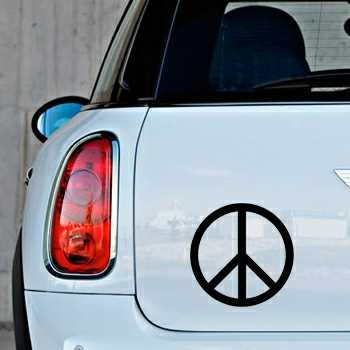 Stencil Mini Peace & Love Logo