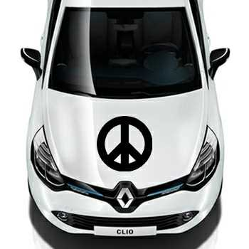 Pochoir Renault Peace & Love Logo II