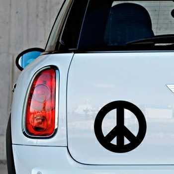 Stencil Mini Peace & Love Logo II