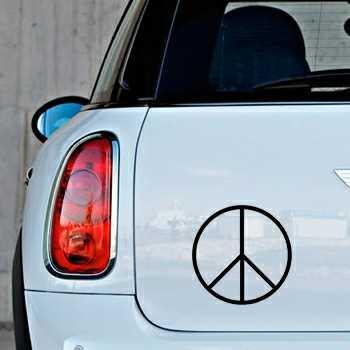 Schablone Mini Peace & Love III Logo