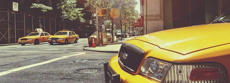 Decal Tête de Lit New York Taxi