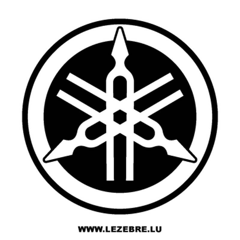Pochoir Yamaha Nouveau Logo II