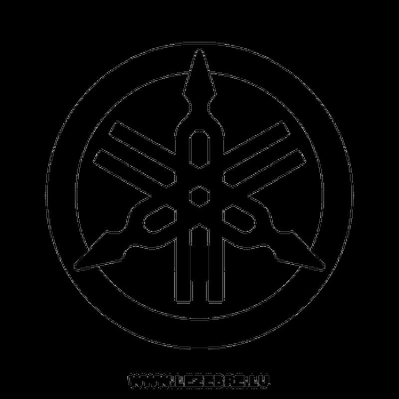 Pochoir Yamaha Nouveau Logo