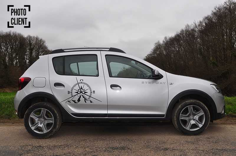 Kit Stickers Dacia Duster Deko Türen