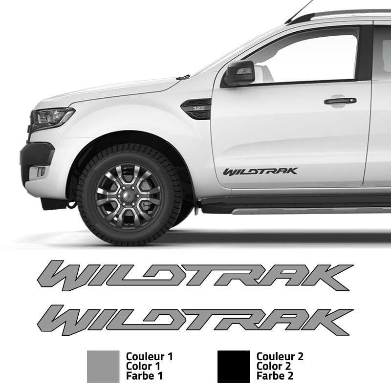 Ford Ranger Wildtrak Türen Aufkleber