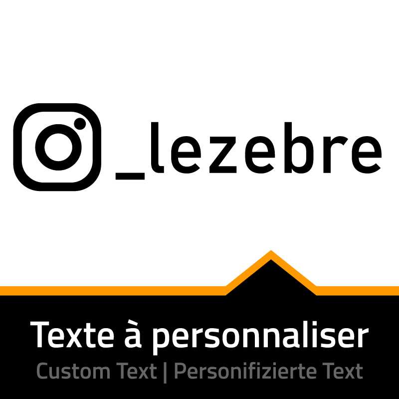 Sticker Instagram - Nom à Personnaliser