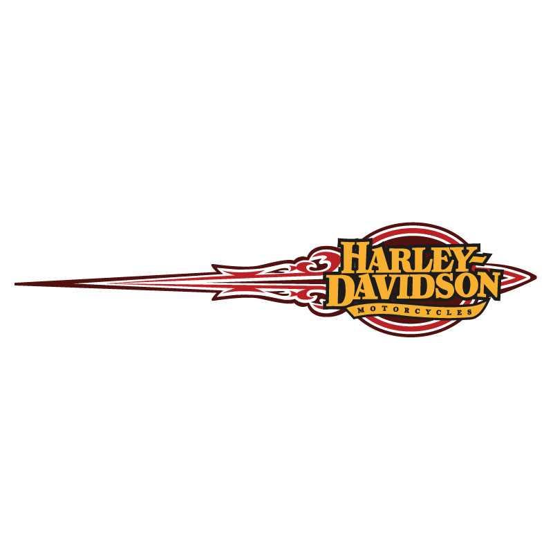 Harley-Davidson Ornament Decal