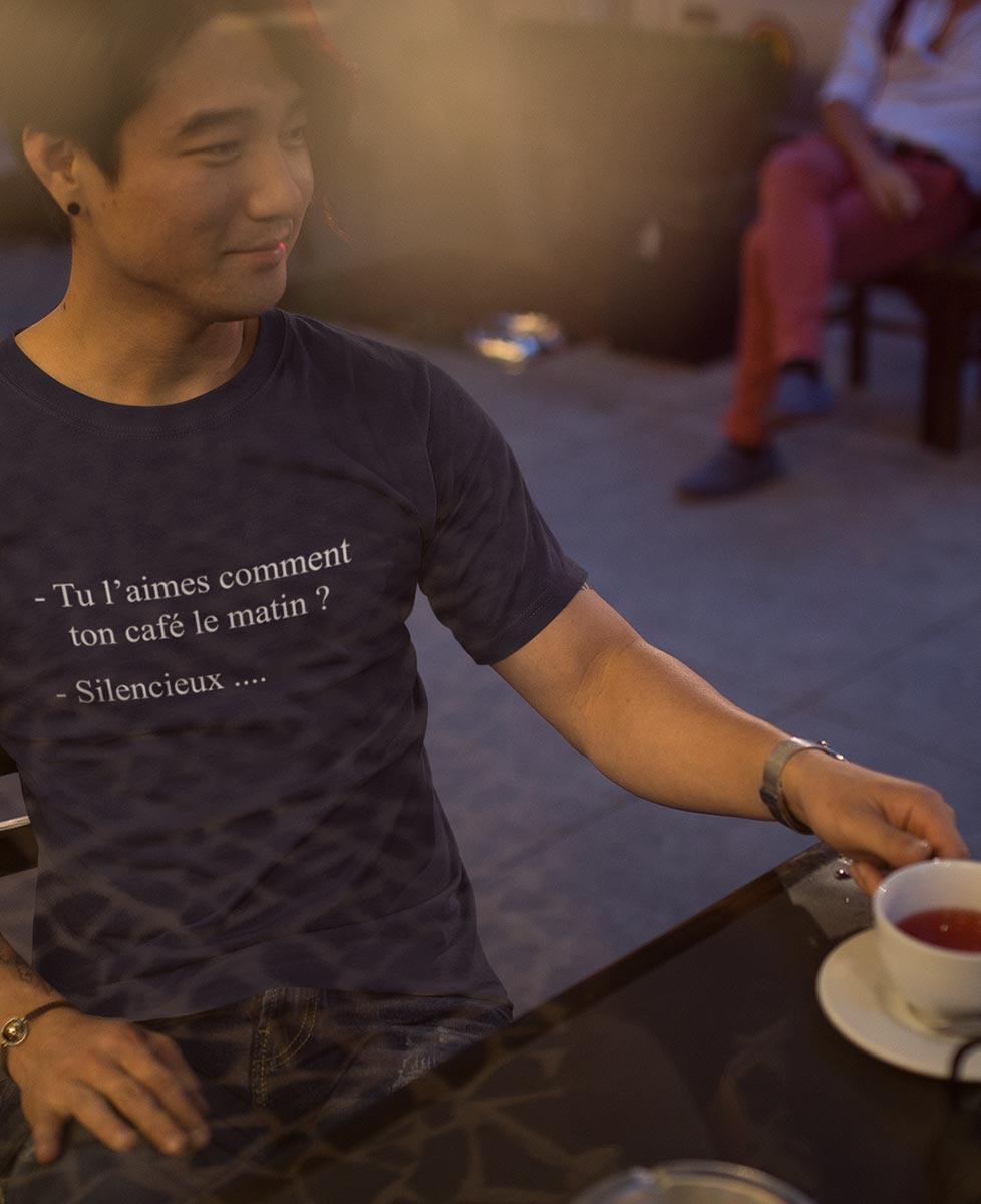 Tee Café du Matin... Silencieux