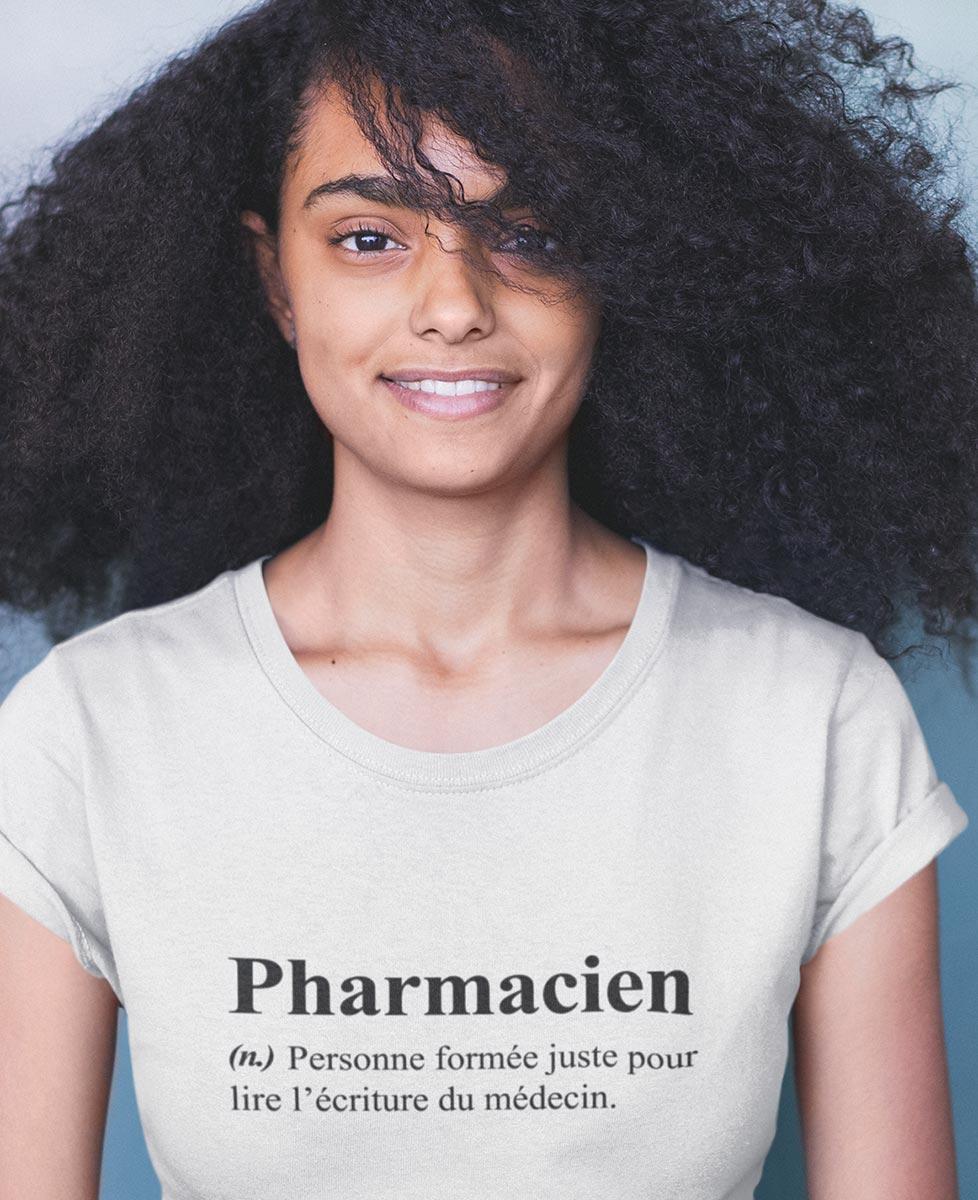 Tee Humour Définition Pharmacien