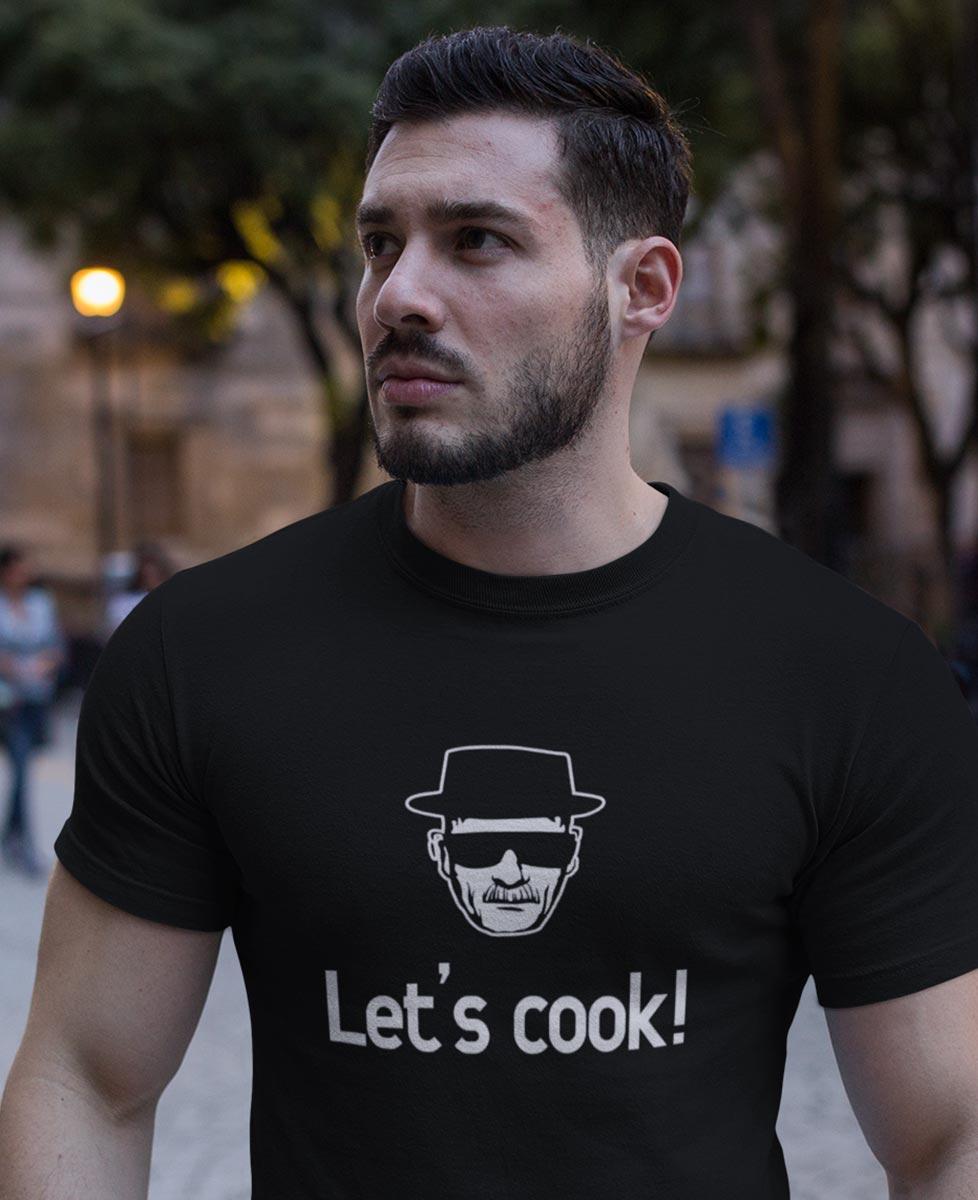 Tee Let's Cook ! Heisenberg Breaking Bad
